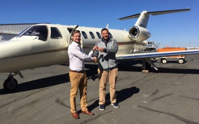 Client takes delivery of 2008 Cessna Citation CJ2+