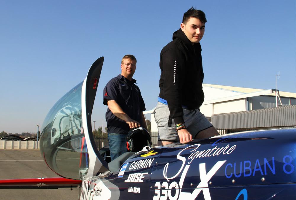 Share the rush winners flying with Jason Beamish