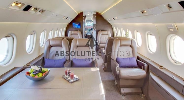 2004 DASSAULT FALCON 2000 for sale_interior