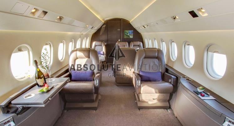 2004 DASSAULT FALCON 2000 for sale_interior3